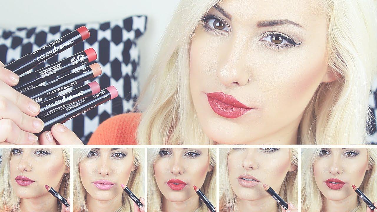 Maybelline Colour Drama Lip Paint