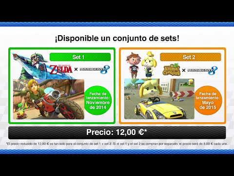 Contenido descargable de Mario Kart 8 - ¡Vuelve el circuito Yoshi! (Wii U)