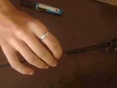 Кольца на удочку видео