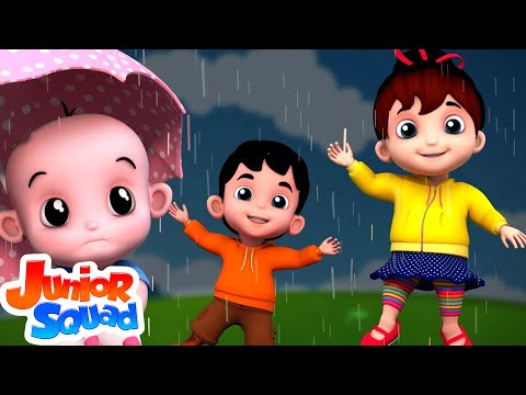 I Hear Thunder | Nursery Rhymes For Kids | Baby Songs | Children Rhyme By Junior Squad