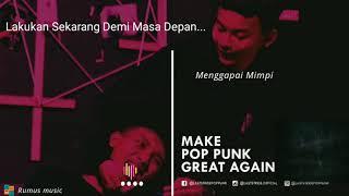 Menggapai Mimpi ( lyrics video) - Musik76