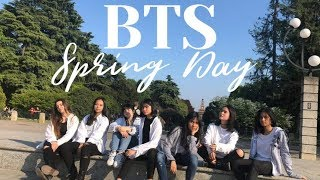 [KPOP IN PUBLIC] BTS (방탄소년단) - SPRING DAY (봄날) | Dance cover by Black Soul