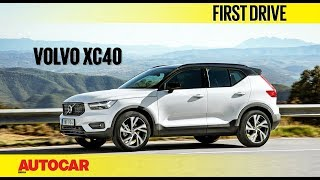 Volvo XC40 | First Drive | Autocar India