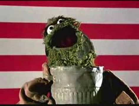 Sesame Street - Grouch National Anthem