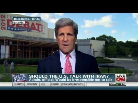 Should the U.S. talk with Iran?
