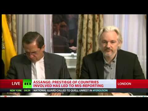 NWW World-News 18.08.2014 Ukraine / Ferguson update - Julian Assange Interview