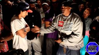 AHAT Rap Battle Juice vs Cali Smoov