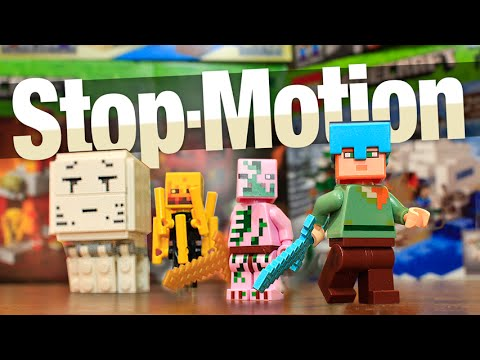 4 NEW MINECRAFT LEGO SETS!!! (Animation & Review)