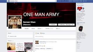 Sameer Khan ke Facebook Ke profile ke live chudai