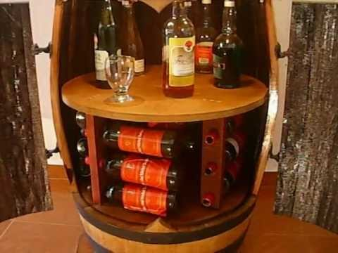 Mi esquinero bodega bar youtube for Bar barril de madera