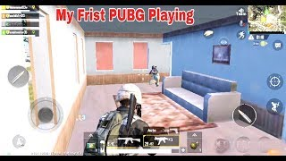 First Time Playing PUBG Mobile Games - PUBG Mobile Game Play Video.