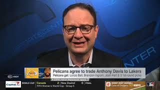 Bobby Marks reveals Lakers projected $32 5M in salary cap space if Daviss deal is pushed to july 30