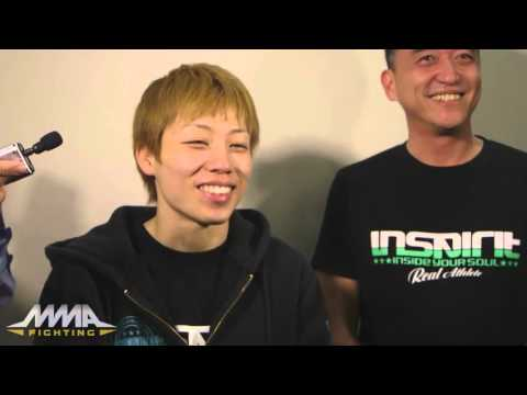 Invicta FC 16: Champion Ayaka Hamasaki Interested in Signing with UFC