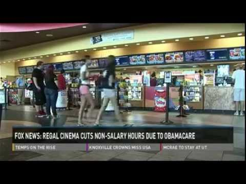 Regal Cinemas Cuts Workweek For Thousands, Blames 'Obamacare'