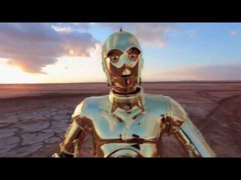 Star Wars Characters Dance To 'Happy' in Tatooine, Tunisia