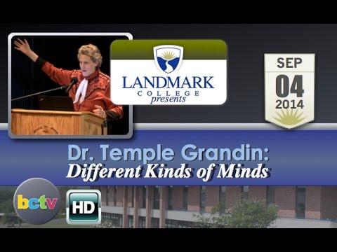 Landmark College presents Dr. Temple Grandin, 'Different Kinds of Minds' - 9/4/14