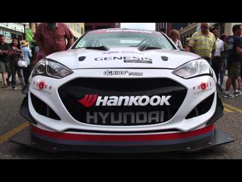 Hyundai Genesis VS. Peugeot 208 T16 at Pikes Peak: Dallenbach Crashes Party (W/Video)