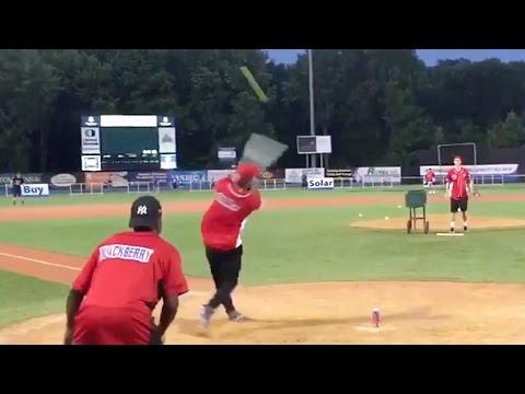 Watch Odell Beckham Jr. Crush Home Runs