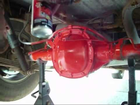 2000 S10 ~ REAR DIFFERENTIAL GASKET & OIL REPLACEMENT