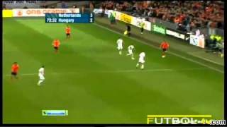 Netherlands 5-3 Hungary - All Goals & Highlights - Euro 2012 Qualifiers 29.3.2011