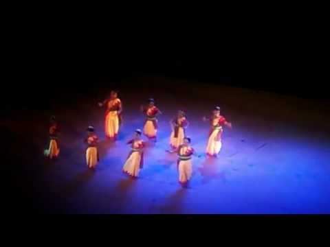 Gananayakaya Ganadhyakshaya Dheemahi (Dance Performance by Little...