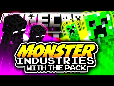 Minecraft MONSTER INDUSTRIES The Pack vs The Pack!