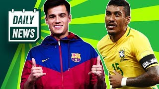 TRANSFERS and WORLD CUP NEWS: PSG to break transfer record for Coutinho + Premier League transfers