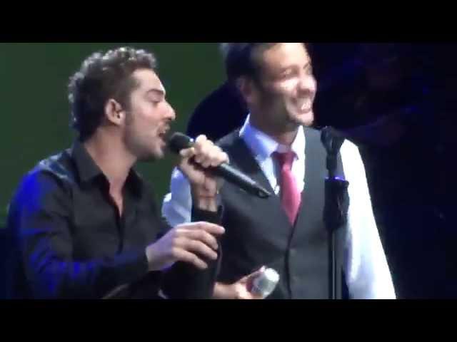 Luciano Pereyra con David Bisbal - Solo le pido a Dios - Villa Maria - Córdoba - 07/02/2015