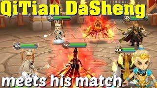 Summoners War - QiTian DaSheng finally meets his match!