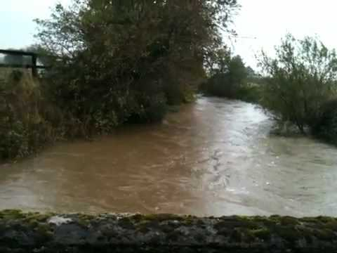Lower morrell flood event 25 oct 2011