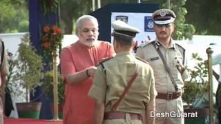 Narendra Modi At Gujarat Police Academy Karai 39 S Lok Rakshak Dal Passing Out Parade