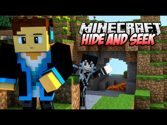 TEN DACH JEST MÓJ!! | VERTEZ & HUNTER W MINECRAFT HIDE AND SEEK!