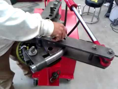 Home made J.D.3 Hydraulic converstion tube bender