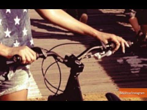 Beyonce Bikes Across Brooklyn Bridge To Her Own Concert