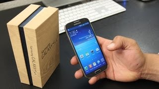 AT&T Samsung Galaxy S4 Unboxing & First Look