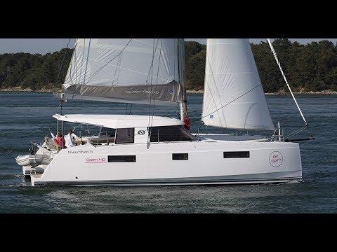 Nautitech 40 open catamaran at Dusseldorf 2018