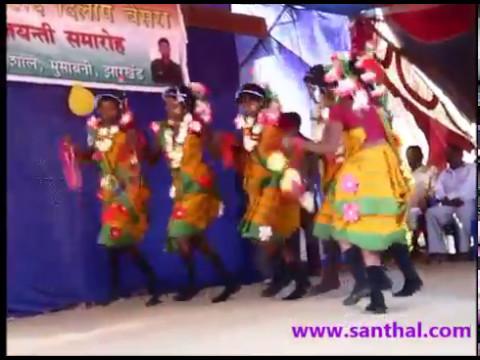 Tata Tisco - Santhali   Santali Dance Performance video