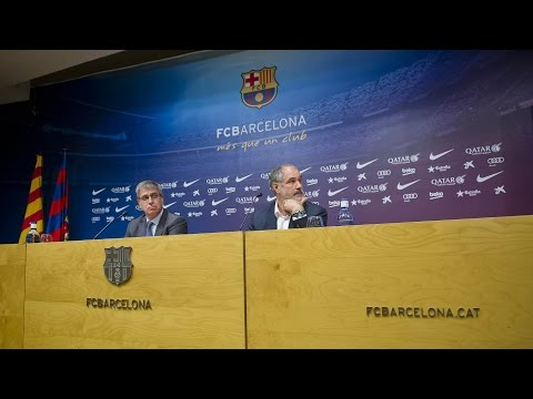 Press conference to review sports area