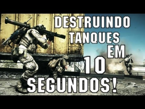 BF3: Destruindo um tanque em 10 segundos
