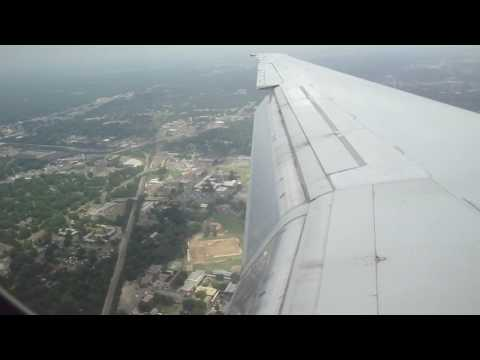 Landing at Memphis International