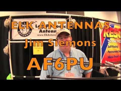 ELK ANTENNAS - SEAPAC 2012 Interview