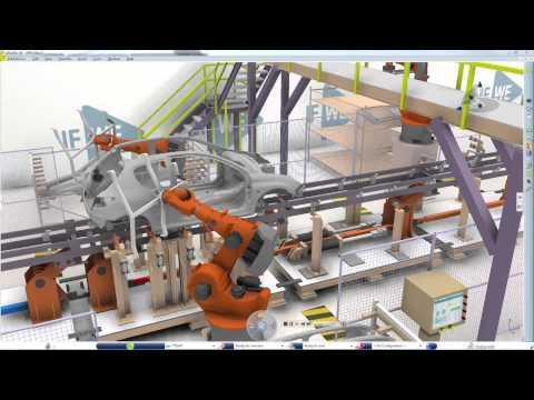 DELMIA Transportation & Mobility Body in White Robot Programmer