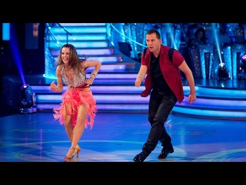 Scott Mills & Joanne Clifton Cha Cha To 'rock Dj' - Strictly Come Dancing: 2014 - Bbc One video