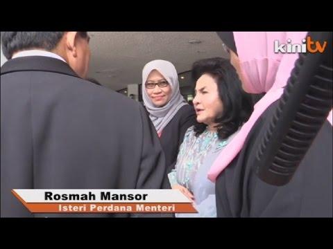 Peganjur arah Kinitv padam visual Rosmah