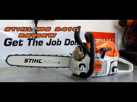 Stihl MS241C Chainsaw Review