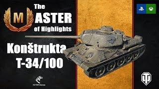 The Master of Highlights: Konštrukta T-34/100