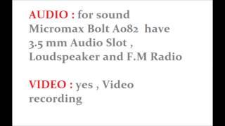 Micromax Bolt A082