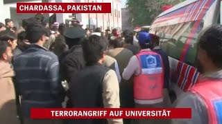 Terror in Pakistan: Massaker an Universität