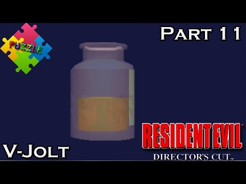 Resident Evil Director's Cut - Part 11 - PUZZLE -  V-Jolt