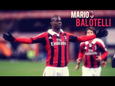 Mario Balotelli First Match For A.C Milan VS Udinese HD